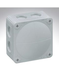Wiska Box Grey 140X140X82mm