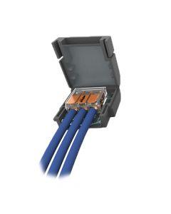 WISKA Shellbox 113 1x3 Way Gel Connector Box